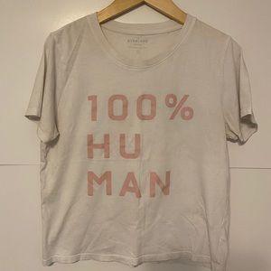 Everlane 100% Human tshirt